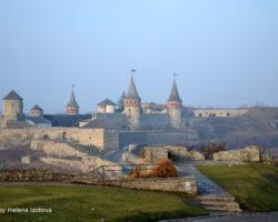 Kamiaets Podilskyi, la forteresse, la matinée