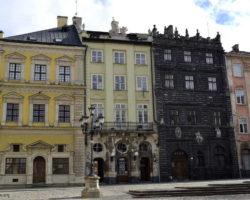 La Place du Marché Lviv Ukraine