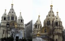 la cathédrale russe Saint Alexandre Nevsky